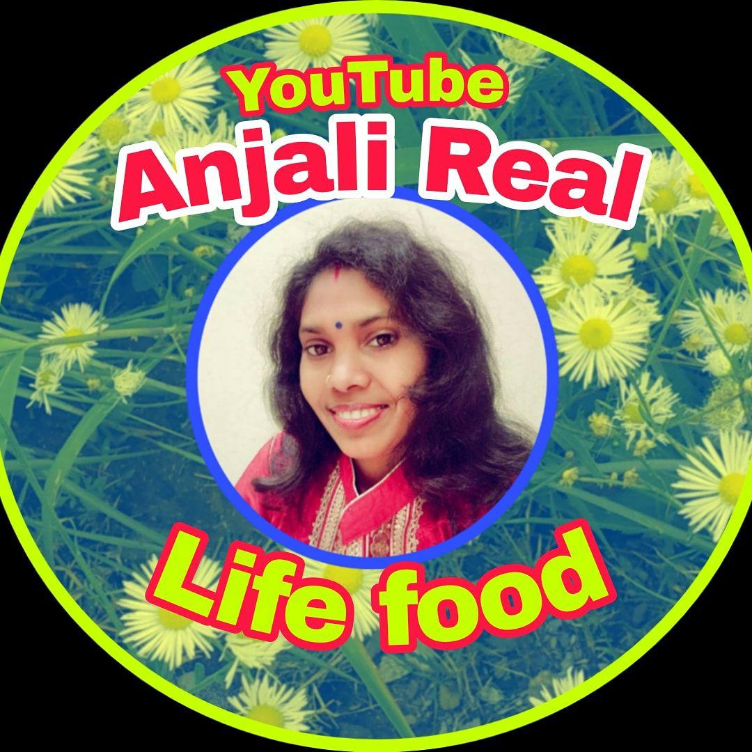 Anjali Real Life food. youtube