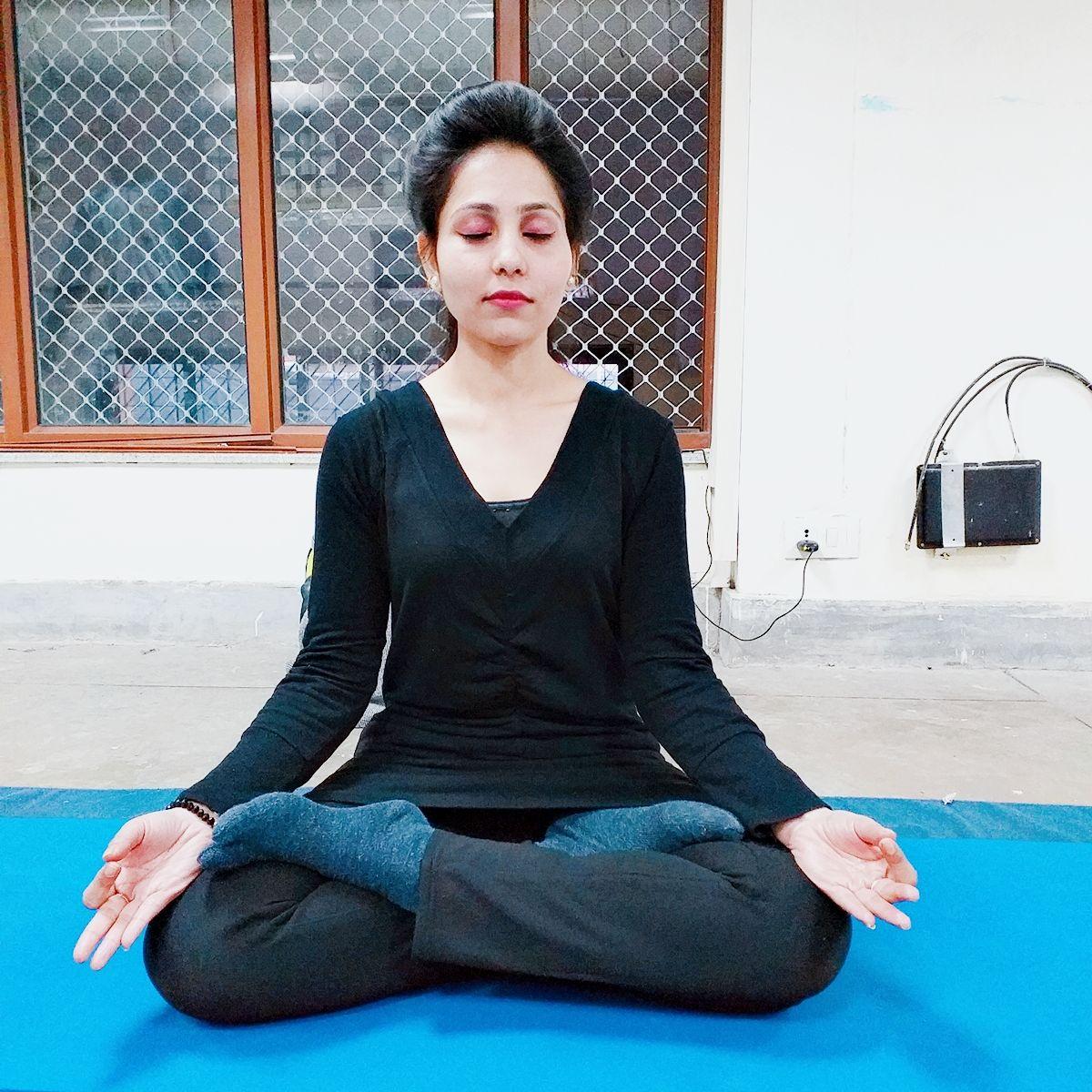 Gayatri Yog Sadhak And Yog Instructor.
